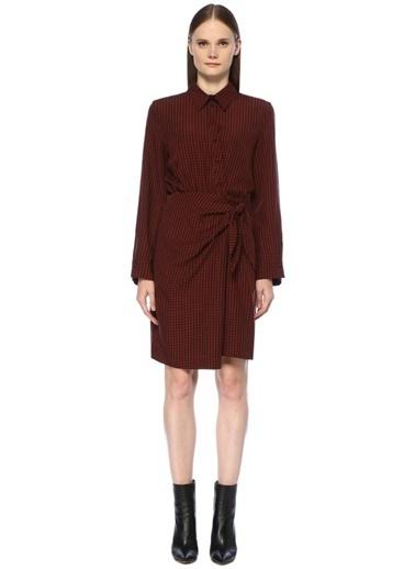 Nanushka Elbise Kırmızı